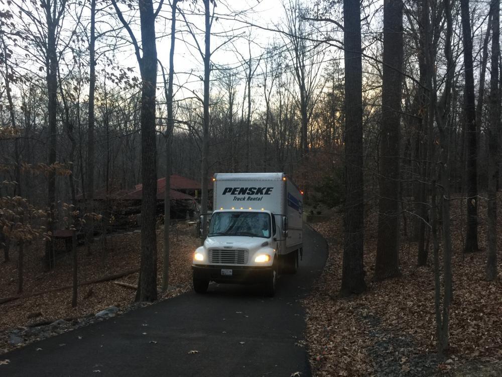 1. Truck arrives.JPG